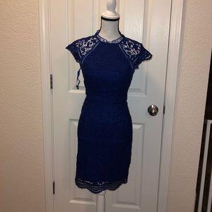 ASOS blue dress sz 4